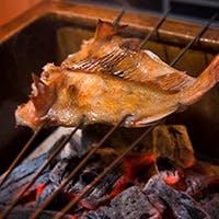 こだわりの備長炭で焼き上げるお料理