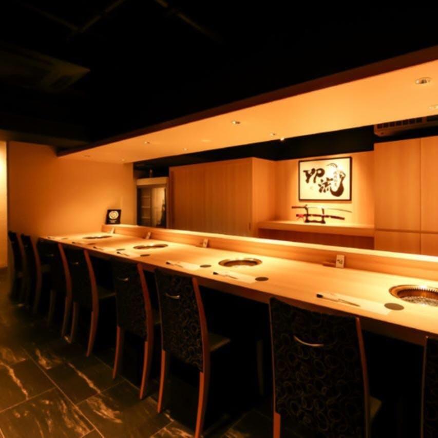 ゆったり和モダン空間で極上料理をご堪能ください
