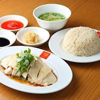 シンプルだからこそ素材の味が際立つ「シンガポールチキンライス」
