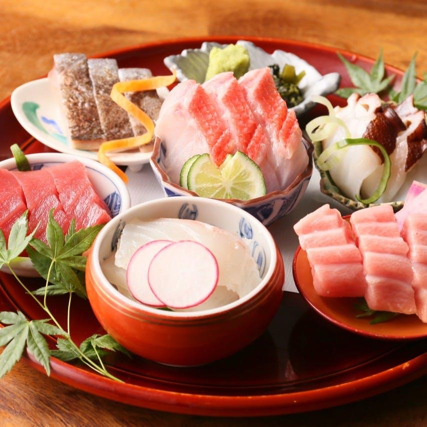 四季折々の鮮魚をもっとも美味しい調理法で