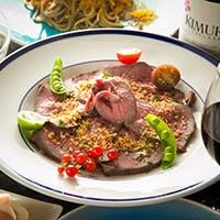 全国各地から新鮮な旬の食材を使用したお料理と地酒や国産ワインとのマリアージュ