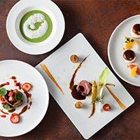 フレンチの技法と料理長の現代的な鋭い感性が溶け合った、愉しさとおいしさ満載の料理