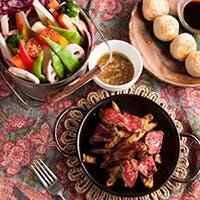旬を楽しむ鮮魚や肉料理 イタリアン&エスニックの創作料理コース