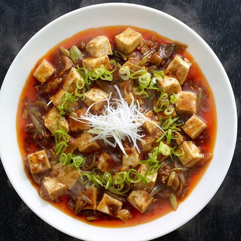 【麻婆点心セット】旨辛四川麻婆豆腐と人気点心の両方を愉める特別ランチ!デザート付