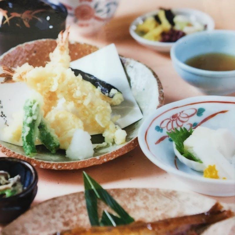 お昼限定【 天ぷら御膳 】+|10月18日~|(※ 送迎不可)