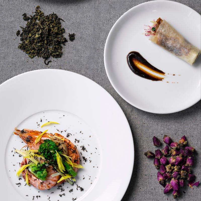 【中環コース】海鮮・お肉料理、デザートなど ※安心・安全に個々盛りでご提供