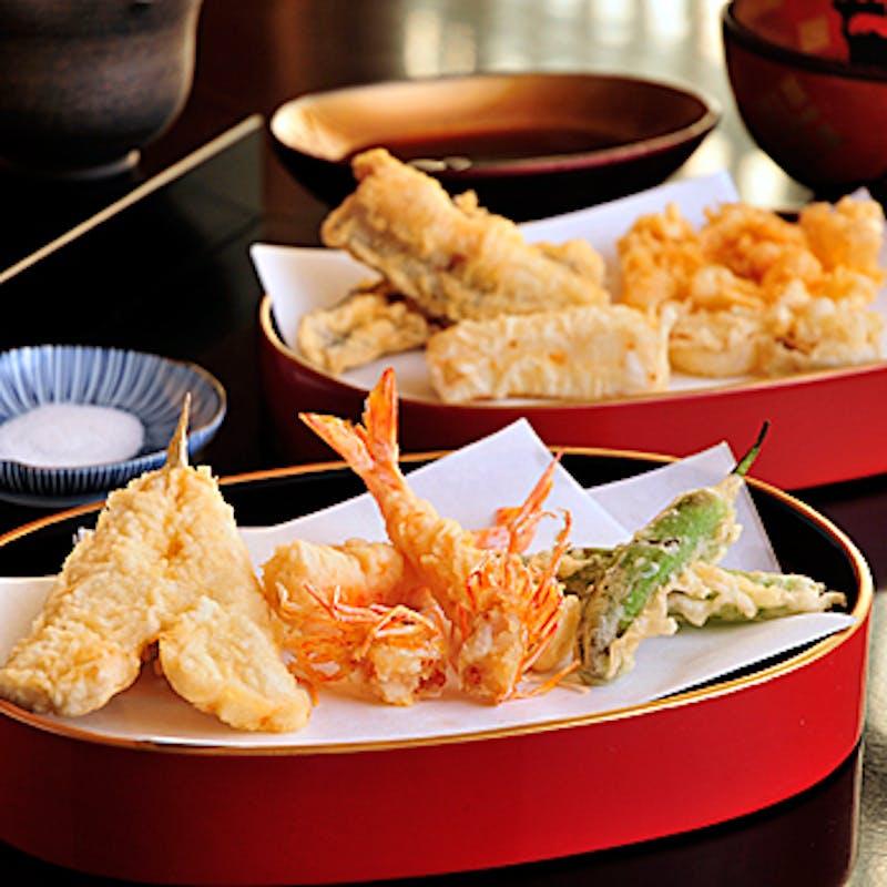 【おまかせコース】天ぷら13品含む全6品+個室確約(リクエスト予約)
