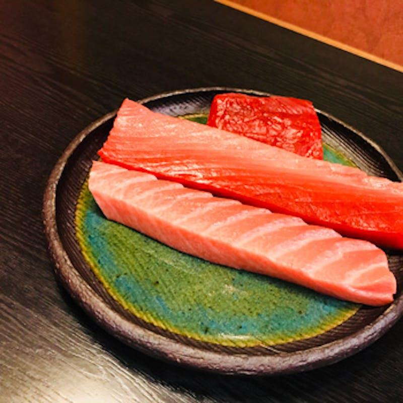 【大将おまかせプラン】旬の焼魚や揚物、刺身、寿司、蒸物など全9品