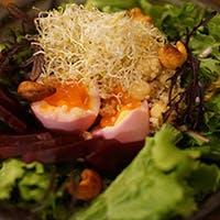 できる限り無農薬、自然な調味料を使用した自然創作料理