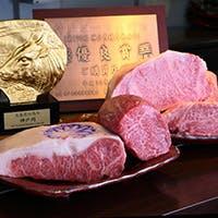 生産者の顔が見える最高の神戸牛のみを使用