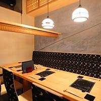落ち着いた空間で極上の松阪牛、神戸牛ステーキを