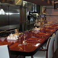 落ち着いた雰囲気のオープンキッチン