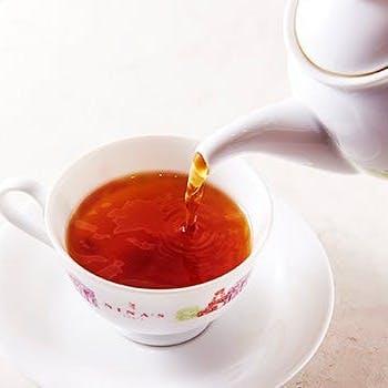 オリジナルの紅茶とお食事