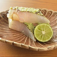 徳島産の鯛や全国津々浦々の食材に真摯に向き合う日本料理