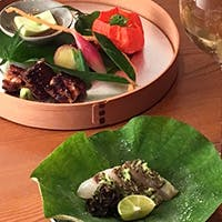 滋味に富んだ日本料理とソムリエセレクトのワインとのペアリング