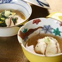 京の伝統野菜をふんだんに使用した「季節の蒸し物」
