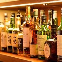 国産ウイスキー・拘りの赤ワインをご提供