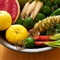 「恵比寿ほし」ではコース形式で季節のお魚、お野菜を楽しめます