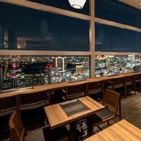 カレッタ汐留46F、地上200mからの圧巻の東京夜景
