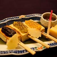 季節の食材を活かした和食と豆腐料理