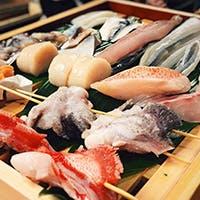 全国より取り寄せた上質な食材を使用 珍しい銘柄の日本酒もご用意