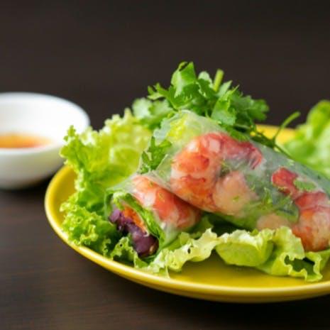 タイ、ベトナム、中華など厳選したアジア各国の料理