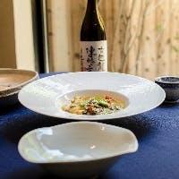 地元京都と中国野菜を用いた至極の品々、繊細な旨みを味わう