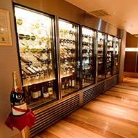 産地直送の旬の食材と多様なワイン