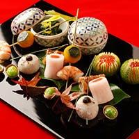 日本の伝統ともいえる丁寧で繊細な懐石料理