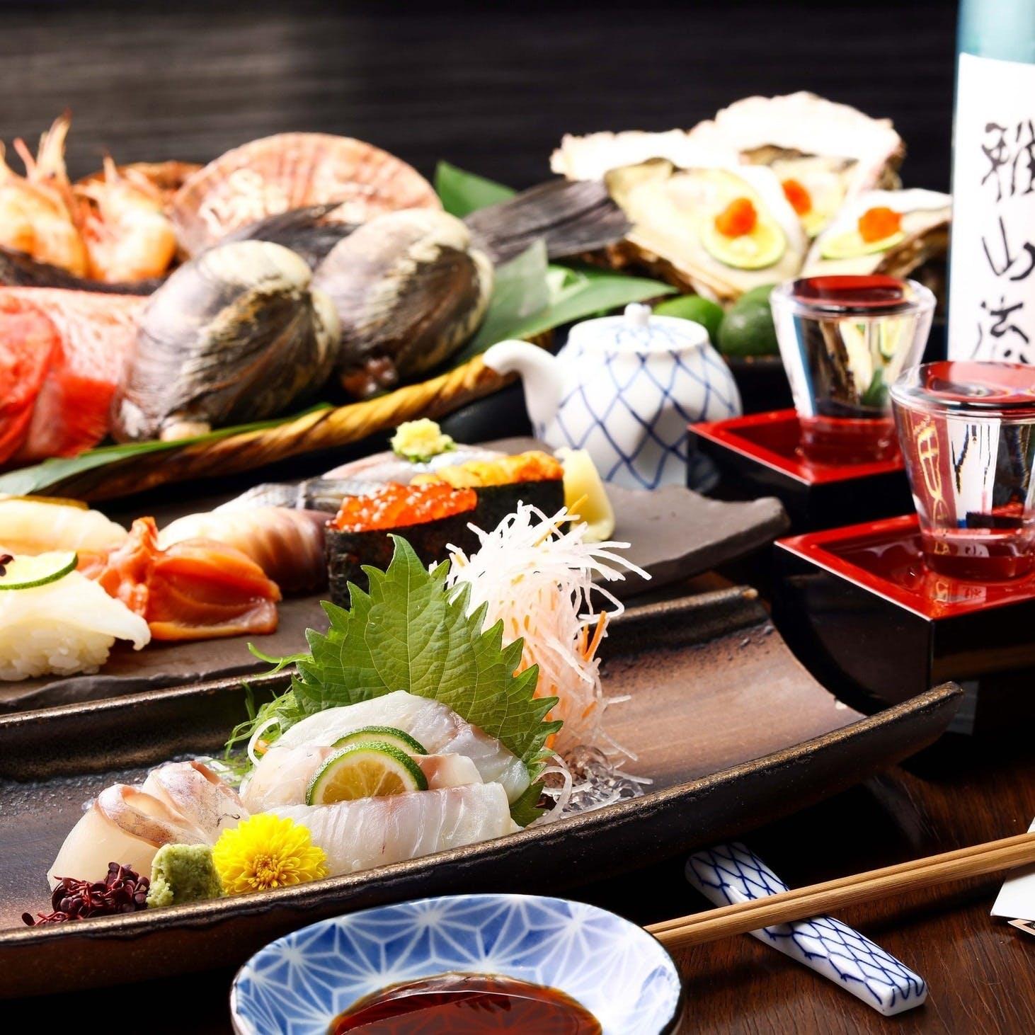 店長が厳選する日本各地の地酒を常時15種以上ご用意