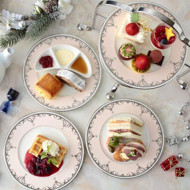 【アフタヌーンティーセット】季節のスイーツ&高級紅茶+クリスマス(11月12月平日限定)