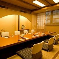 日本の味を落ち着いた個室で楽しむ