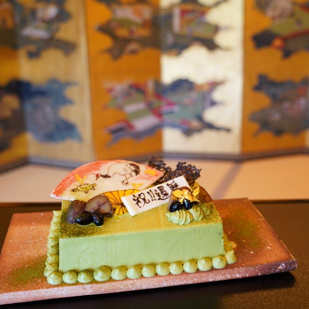 箔のパティシエが作るこだわりケーキ