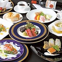 料理長特選食材を使用した豪華で美味な料理