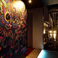 レストラン×ファッション×アートが融合した空間