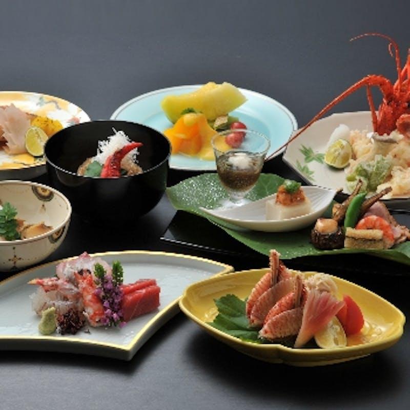 【橋姫】お造り、焼き物、煮物、油物など全9品~結納顔合わせに~(半個室確約)