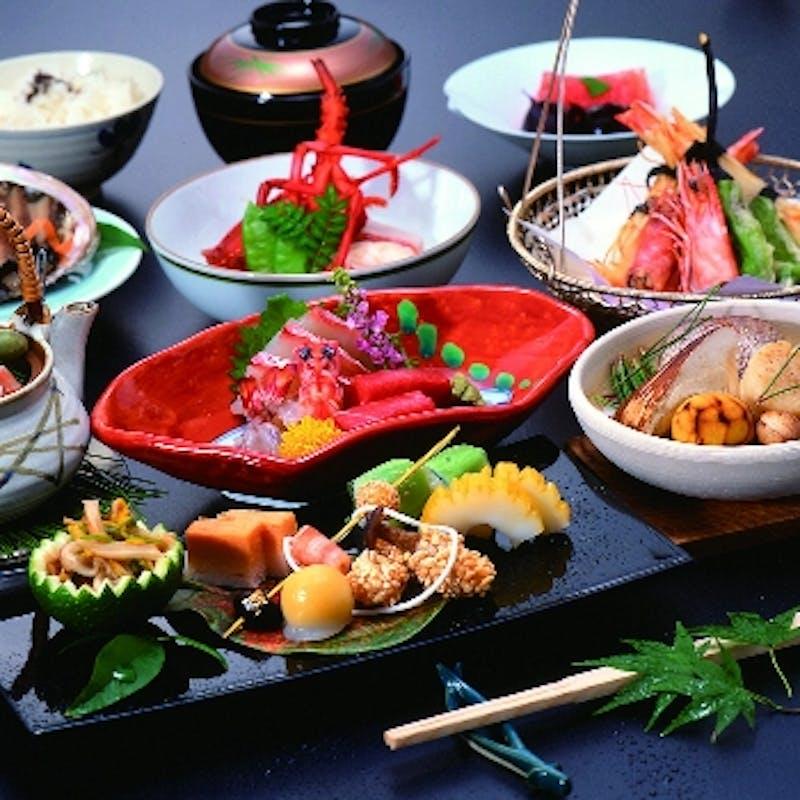 【特別京懐石】お造り、焼き物、煮物、油物など全10品~結納顔合わせに~(団体・リクエスト予約)
