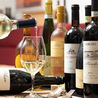 ワインの種類も充実