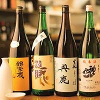 旬の素材の持ち味を十分に引き出した逸品と本物の純米酒とのマリアージュ