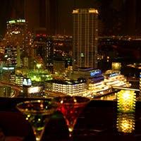 ホテル最上階ならではの横浜の特等席