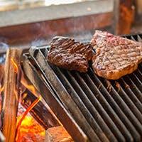 薪焼き肉の抜群の旨みと風味を堪能