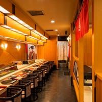 ホテルの地下に佇む寿司屋