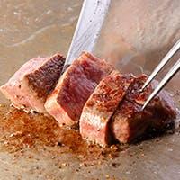 長崎和牛を五感を愉しませる鉄板焼で