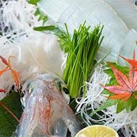 新鮮な魚介類を堪能する