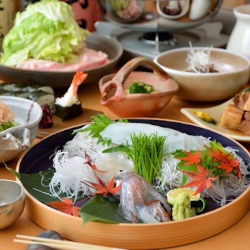 【宴会コース】旬魚・旬菜など全9品