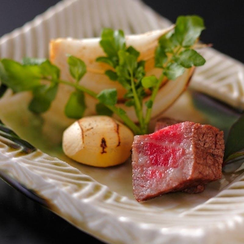 【もみじコース】肉料理、季節の鍋物など全7品+京都の地酒6種飲み比べセット