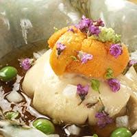 四季折々の食材を使用した料理の数々