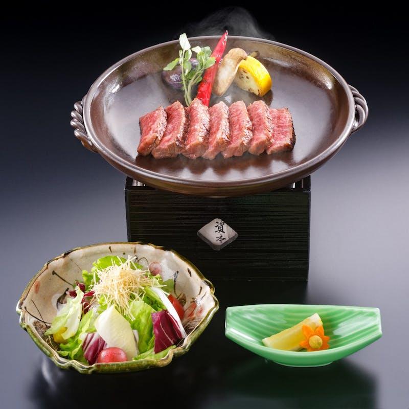 【網焼きステーキ】(極上・シャトーブリアン120g又は極上サーロイン150g)