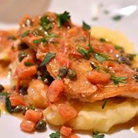 新鮮なお魚を使用した本格イタリアン