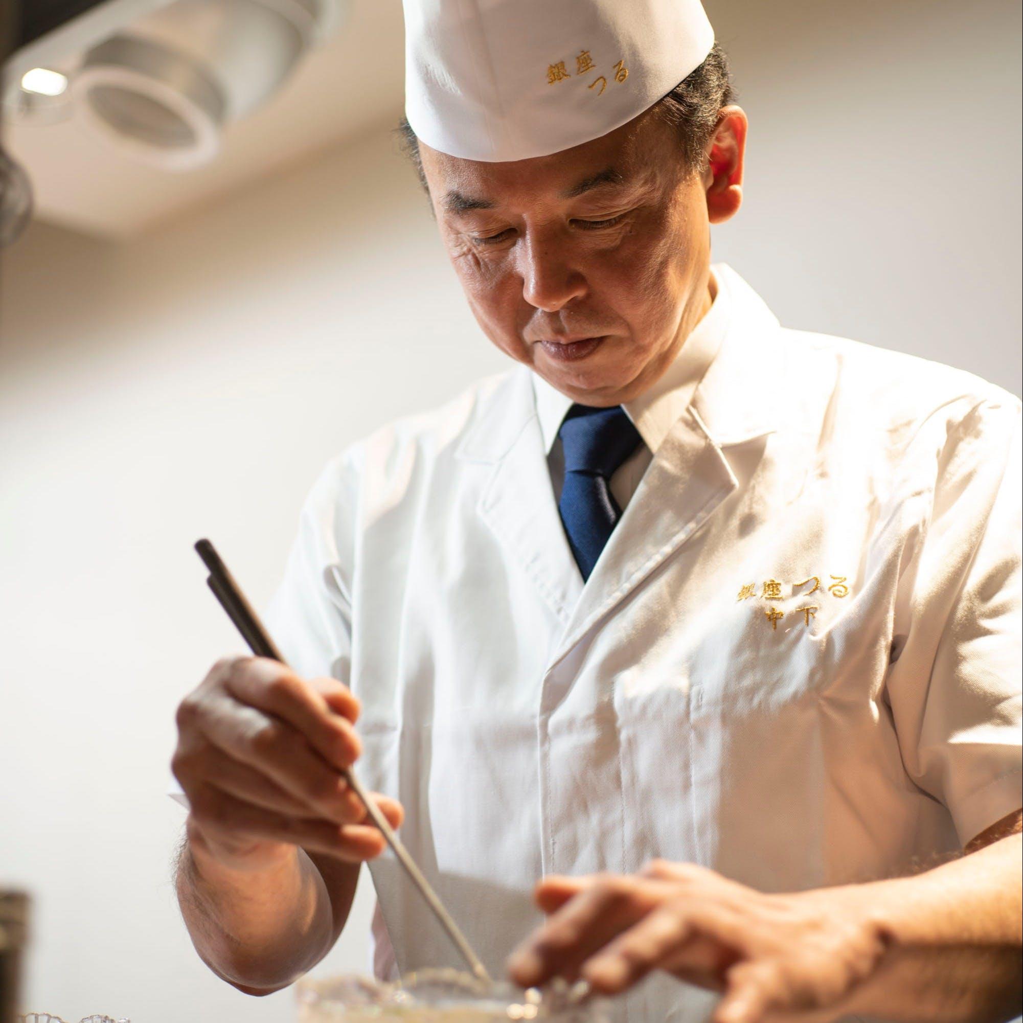 卓越した技術と知識を持つ料理長